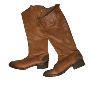 Sam Edelman Penny Leather Riding Boots Size 9.5